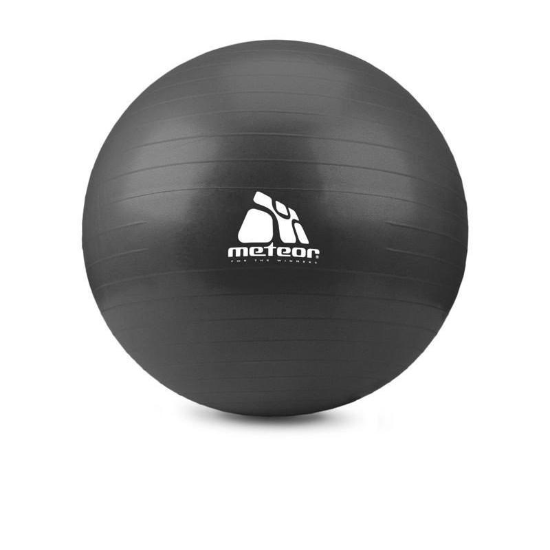 Piłka fitness METEOR 75 cm z pomką