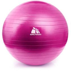 Piłka fitness METEOR 55 cm z pomką